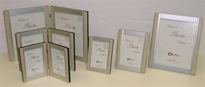 Picture of Frame Leather & Silver