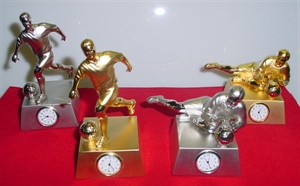 Picture of Clock, Soccer player Standing