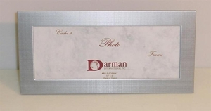 Picture of Panoramic Photo Frame in Brushed Silver