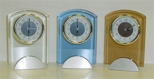 Picture of Glass Clock with alarm
